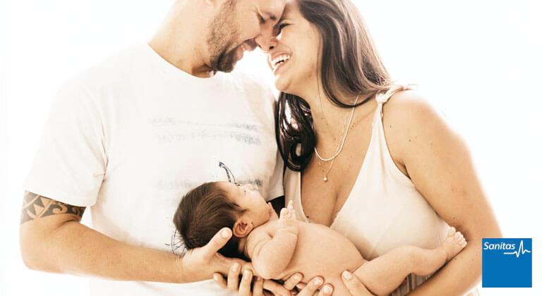seguro recién nacido Sanitas