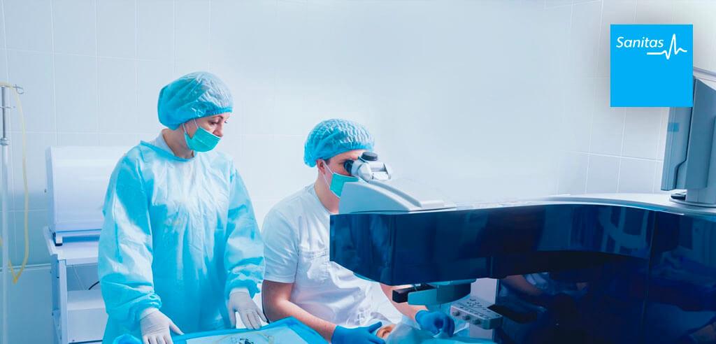Operación laser presbicia Sanitas