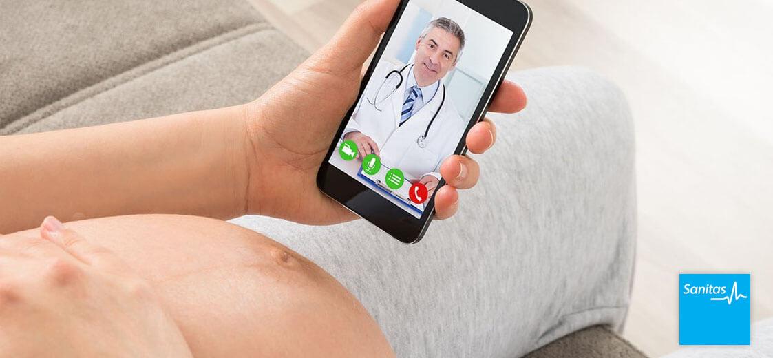 programa digital embarazo Sanitas