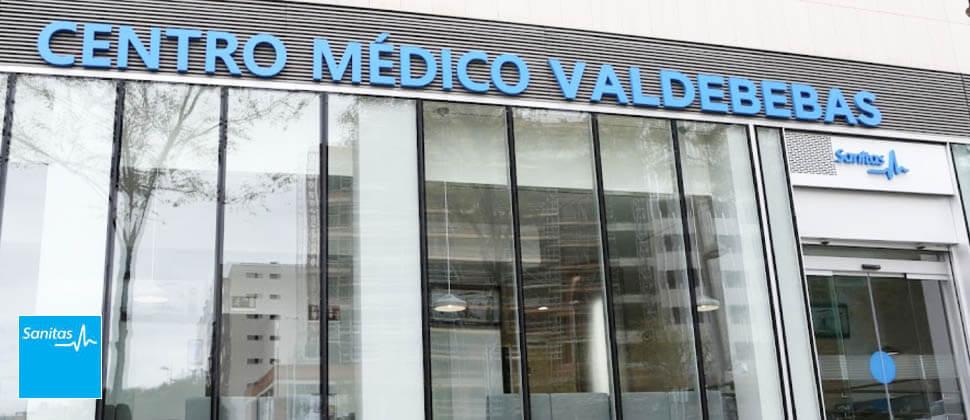 centro medico Sanitas en Valdebebas